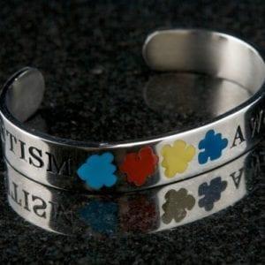 Autism Awareness C-Bracelet