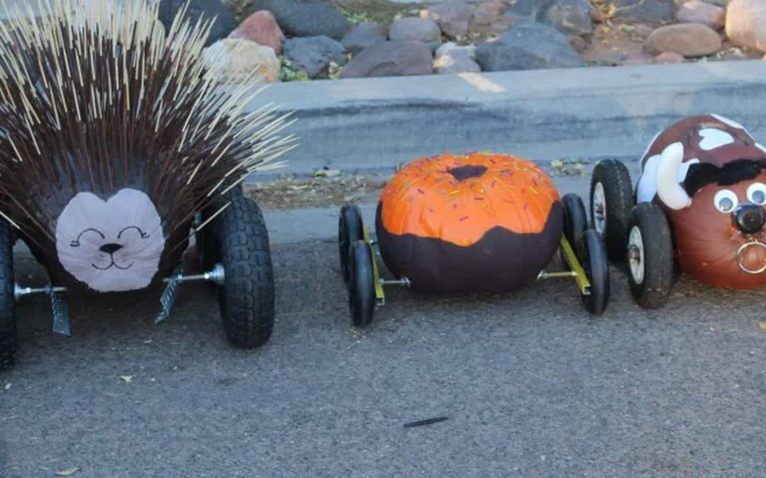 """The Golden Gourd"" Pumpkin Derby"
