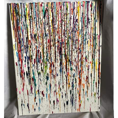 Colored Rain by Ethan Moseley